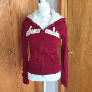 SPRING SALE🌸Girls Abercrombie jacket. Size XL
